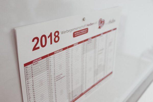 Werbegemeinschaft Mülheim an der Ruhr Jahresplaner 2018