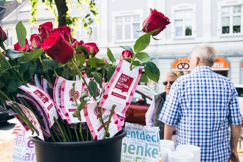 Muttertagsgruß Werbegemeinschaft Heißen in Mülheim Heißen